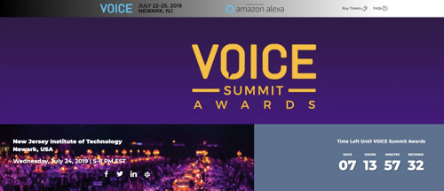 VOICE Summit 2019 Announces Finalists for Inaugural Awards