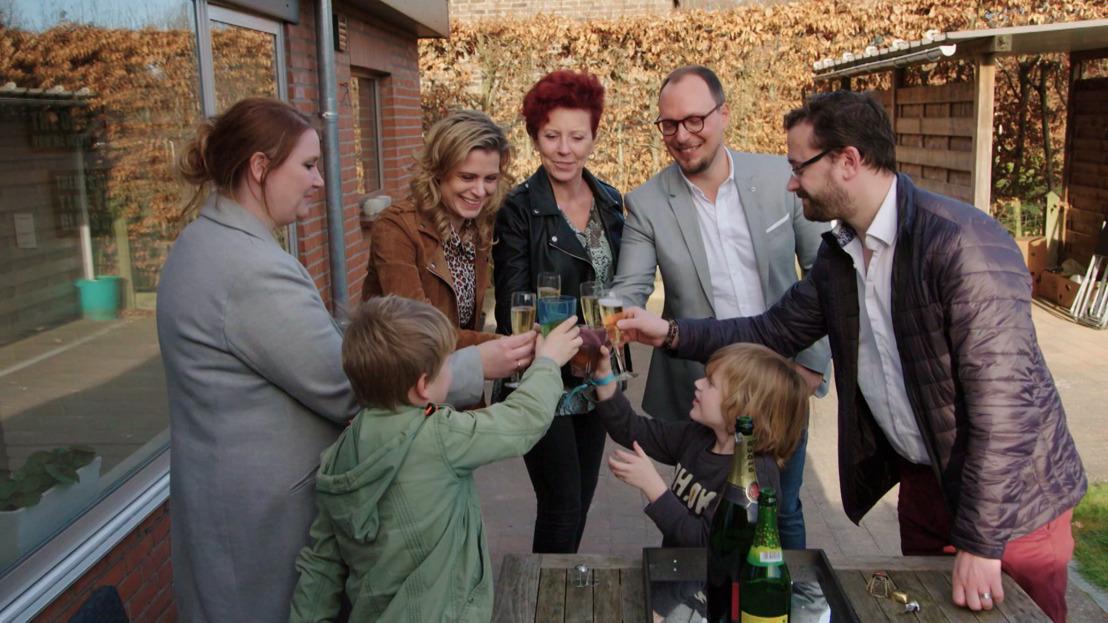 Kim & Cédric dolenthousiast over nieuwe woning in Blind Gekocht