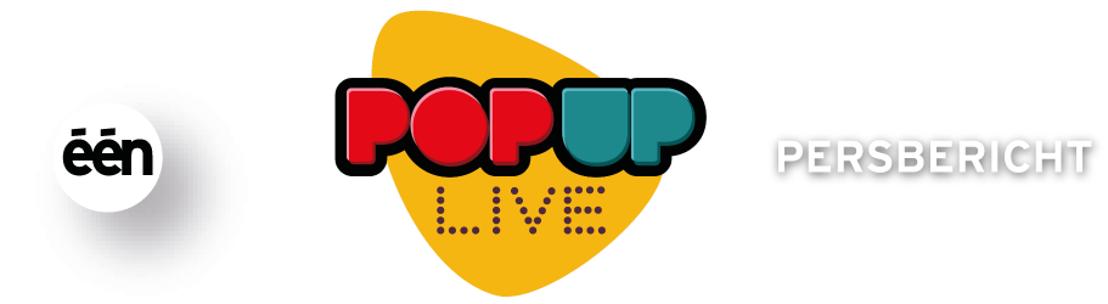 Belgische artiesten ontpoppen zich in Pop Up Live tot wereldsterren