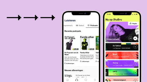 Studio Brussel lanceert nieuwe app, StuBru Select en digitale muziekstream UNTZ