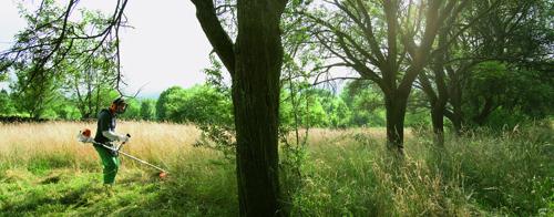 Veilig en slingerarm maaien met bosmaaiers