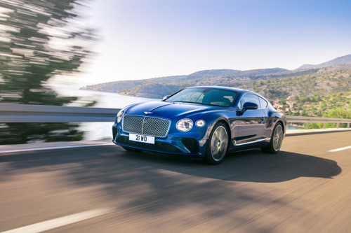 DE GLOEDNIEUWE BENTLEY CONTINENTAL GT - DE DEFINITIE VAN LUXUEUS GRAND TOURING