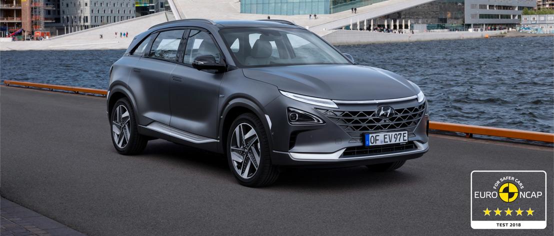 All-New Hyundai NEXO ottiene cinque stelle nell'EuroNCAP