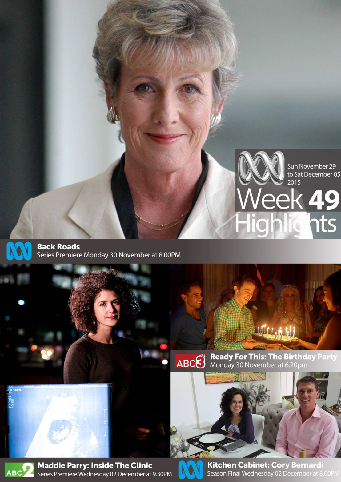 ABC TV Highlights - Week 49