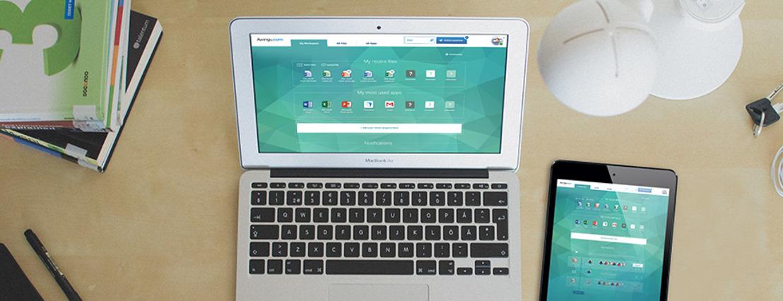 Prophets a offert un lifting à la solution logicielle de l'entreprise de cloud gantoise Awingu.
