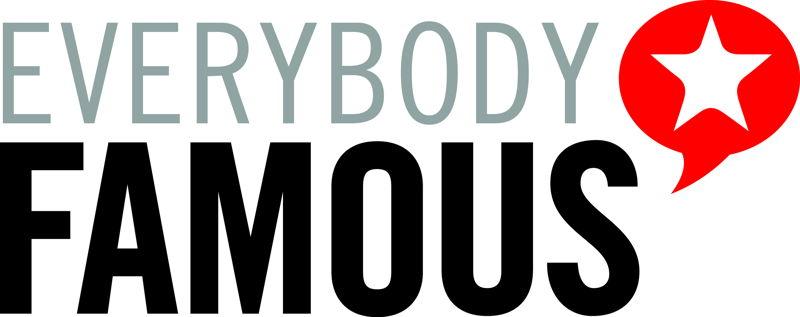 Everybody Famous logo white