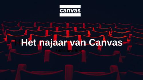 Ontdek het najaar van Canvas
