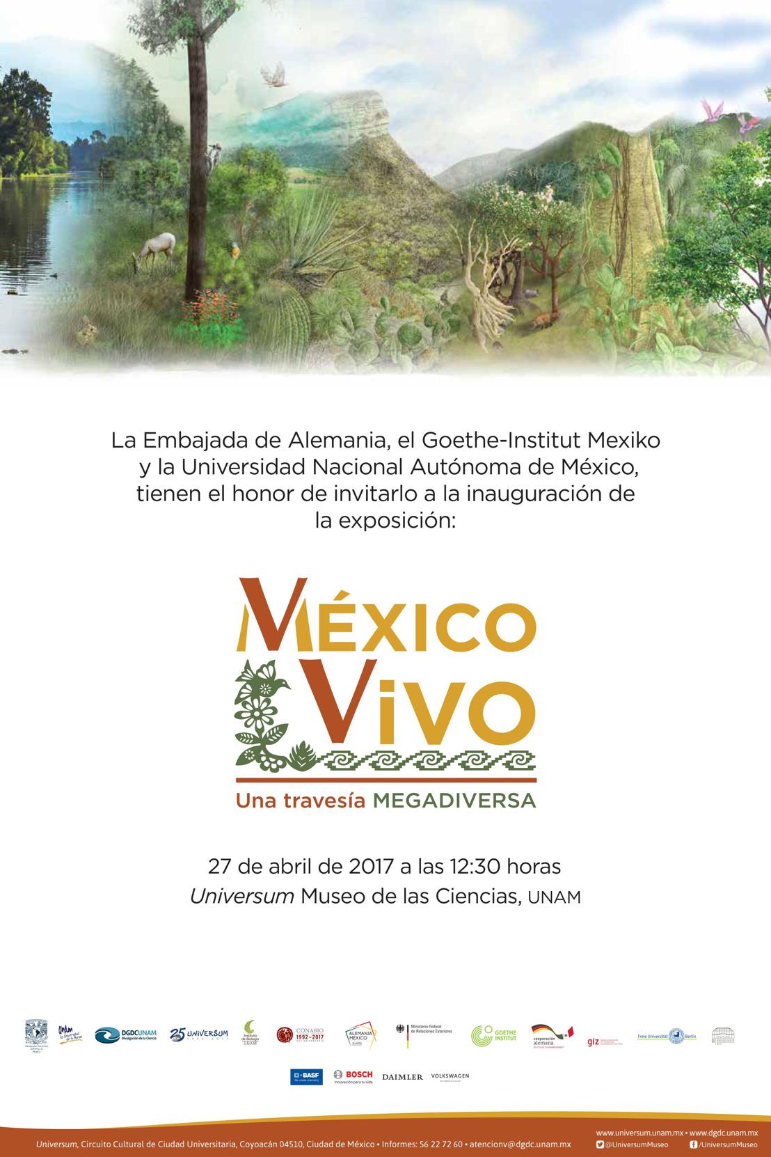 Invitación: México Vivo, una travesía megadiversa