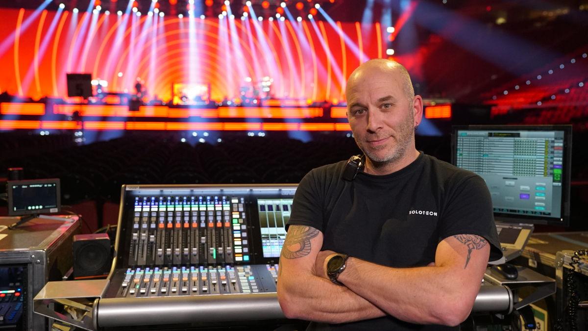 Martin Paré, Celine Dion's Monitor Engineer