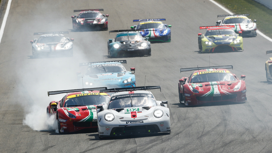 GTE-Pro misfortune and second in the GTE-Am class in Portimão for Porsche
