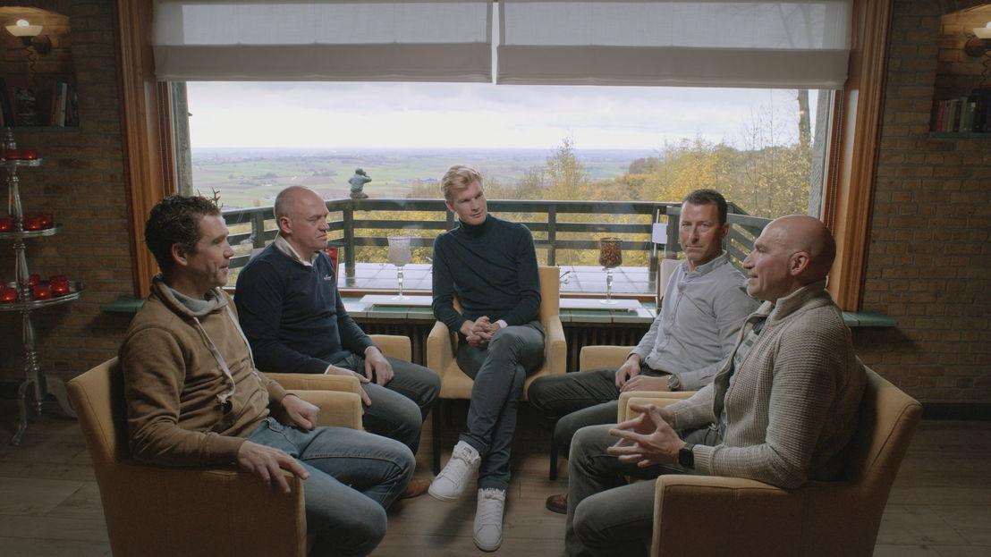 Aflevering 2: Léon Van Bon, Tom Steels, Ruben Van Gucht, Peter Farazijn, Ludo Dierckxsens - (c) Deklat Binnen