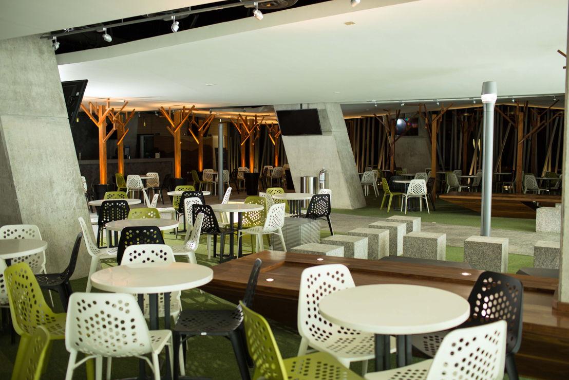 Sistema de audio distribuido en restaurante Estadio BBVA Bancomer