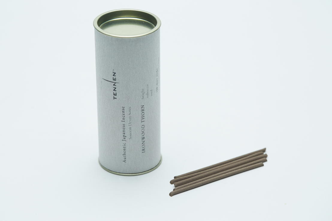 GR13 - Tennen - Short stick incense - Cilinder of 100 - 59 euro