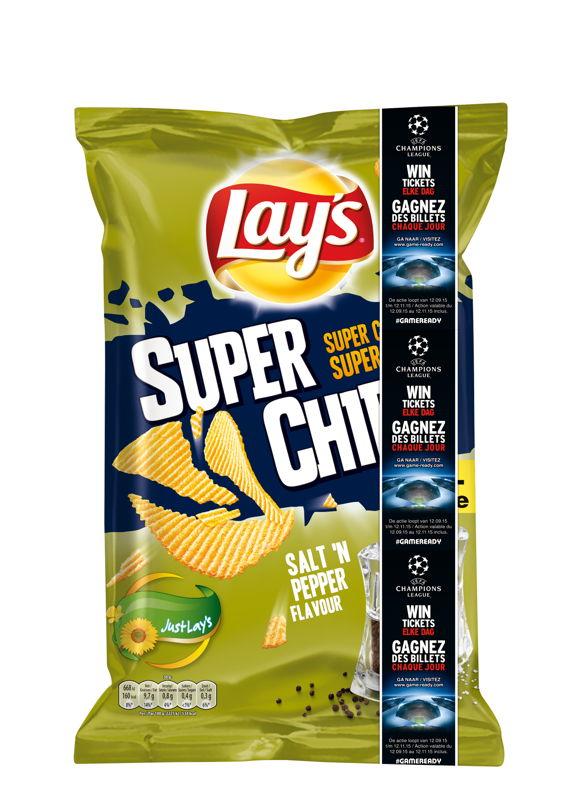 #GAMEREADY Banner Lay's Superchips Salt & Pepper Visual