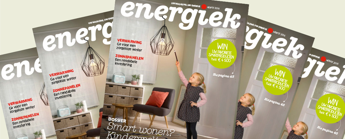 Make-over for ENGIE Electrabel... and its Energiek magazine