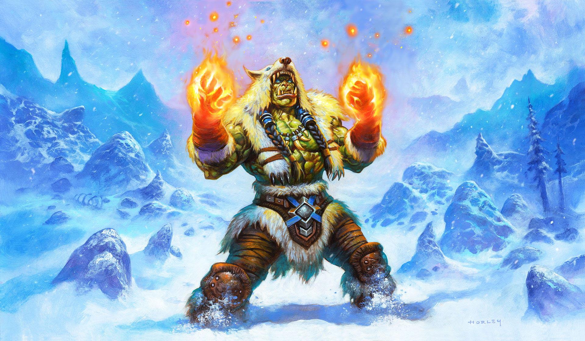 Thrall est un héros orc bien connus des fans de l'univers de Warcraft.