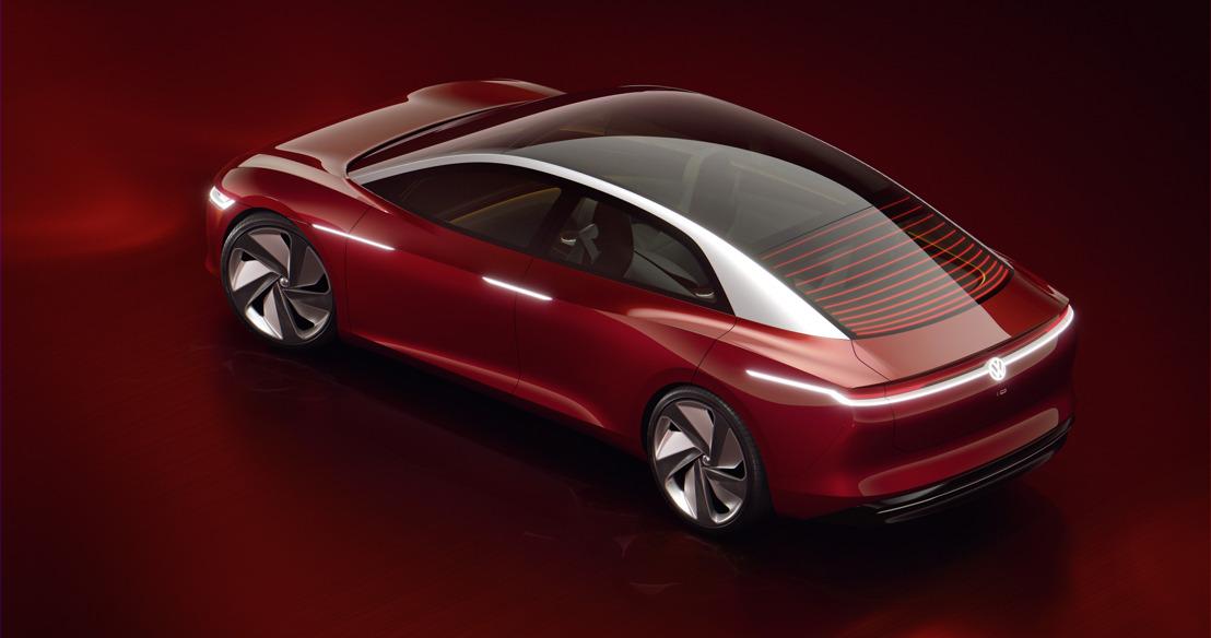 Studiemodel voor een autonoom rijdende topklasselimousine: I.D. VIZZION is de nieuwe highlight van de I.D.-familie