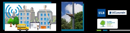 Brussel lanceert een proefproject om in real time de blootstelling aan elektromagnetische straling te volgen