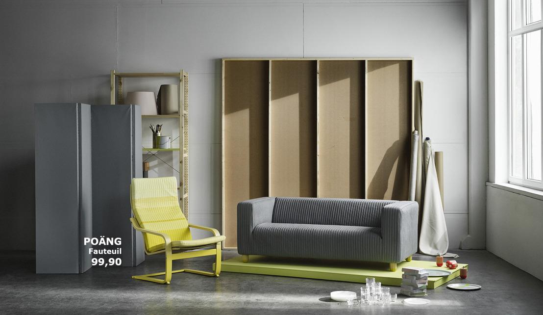 Le duo de designers néerlandais Scholten & Baijings donne un nouveau souffle à des icônes IKEA
