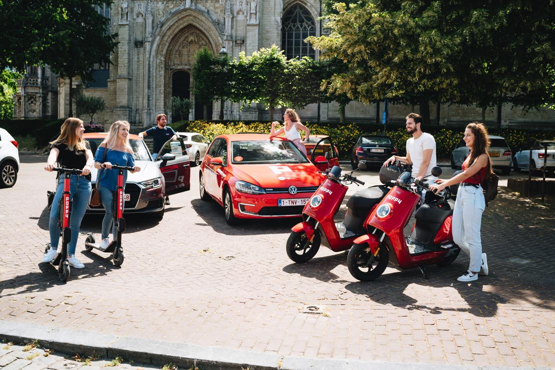 Poppy devient la première plateforme de mobilité partagée en Europe à offrir 3 solutions de mobilité dans 1 seule app