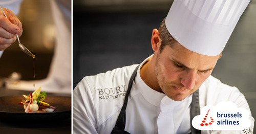 Brussels Airlines and chef Tim Boury renew collaboration for 2021 to offer Belgian cuisine on intercontinental flights