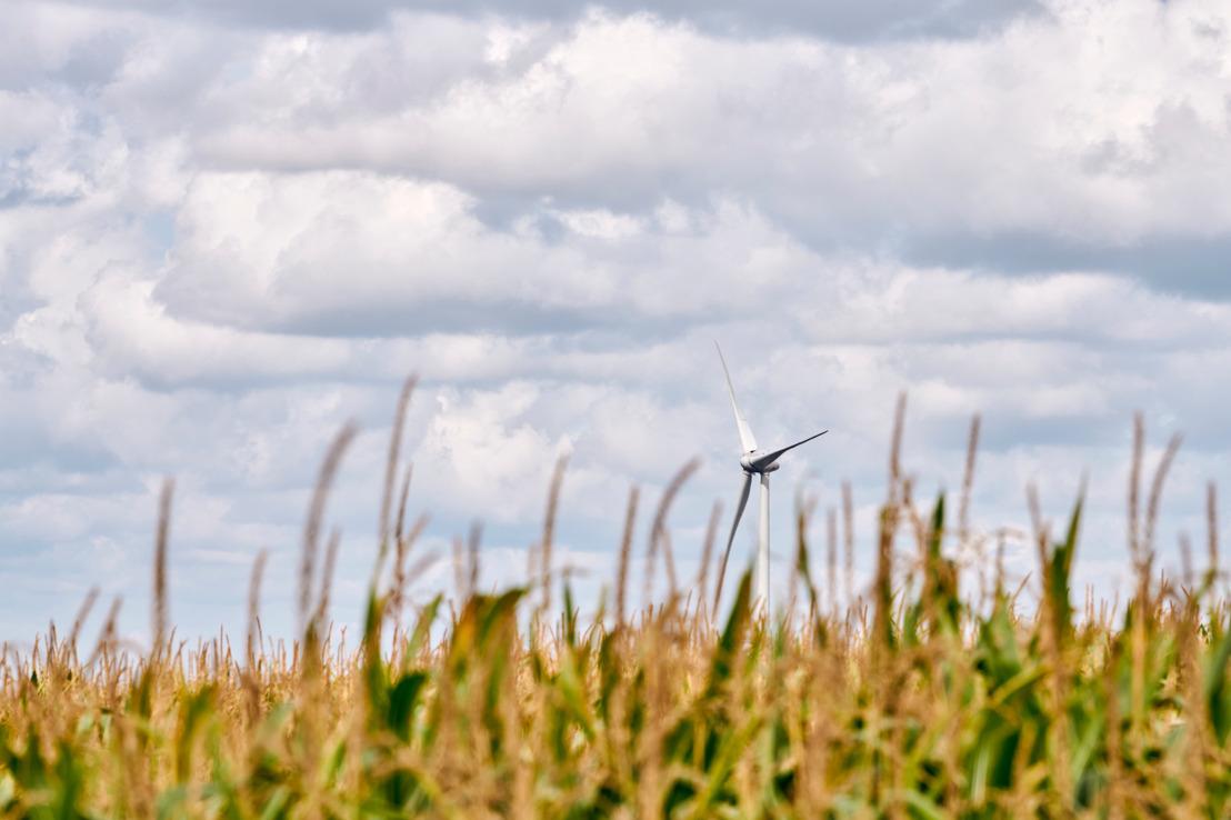 Un projet de 6 nouvelles éoliennes sur les communes de Ciney et de Hamois