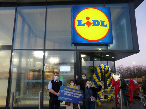 Lidl opent in Asse