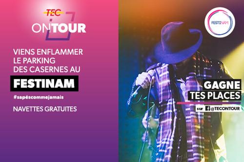 FESTINAM à Namur | Le TEC facilite votre déplacement