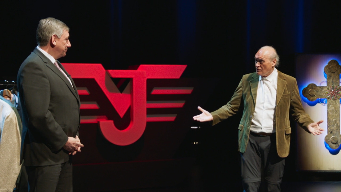 Minister-president Jan Jambon solliciteert voor aangever van Jacques Vermeire