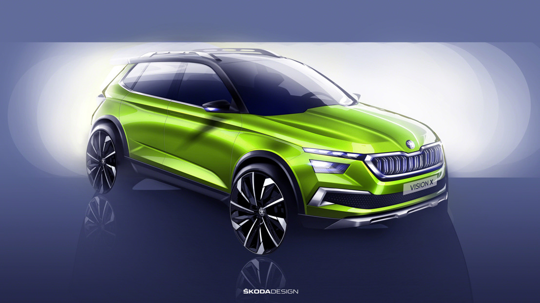 Geneva Motor Show 2018: World premiere of the concept study ŠKODA VISION X live online