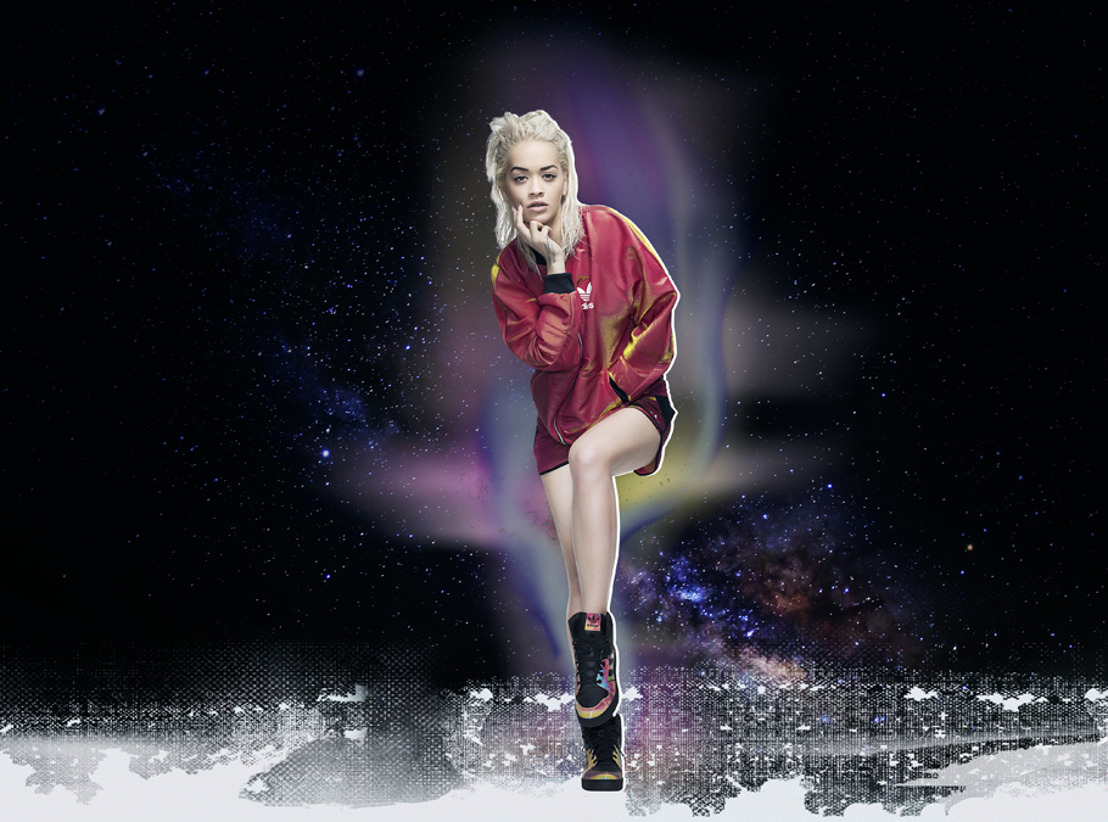 Rita Ora presenta Space Shifter Pack para adidas Originals FW15