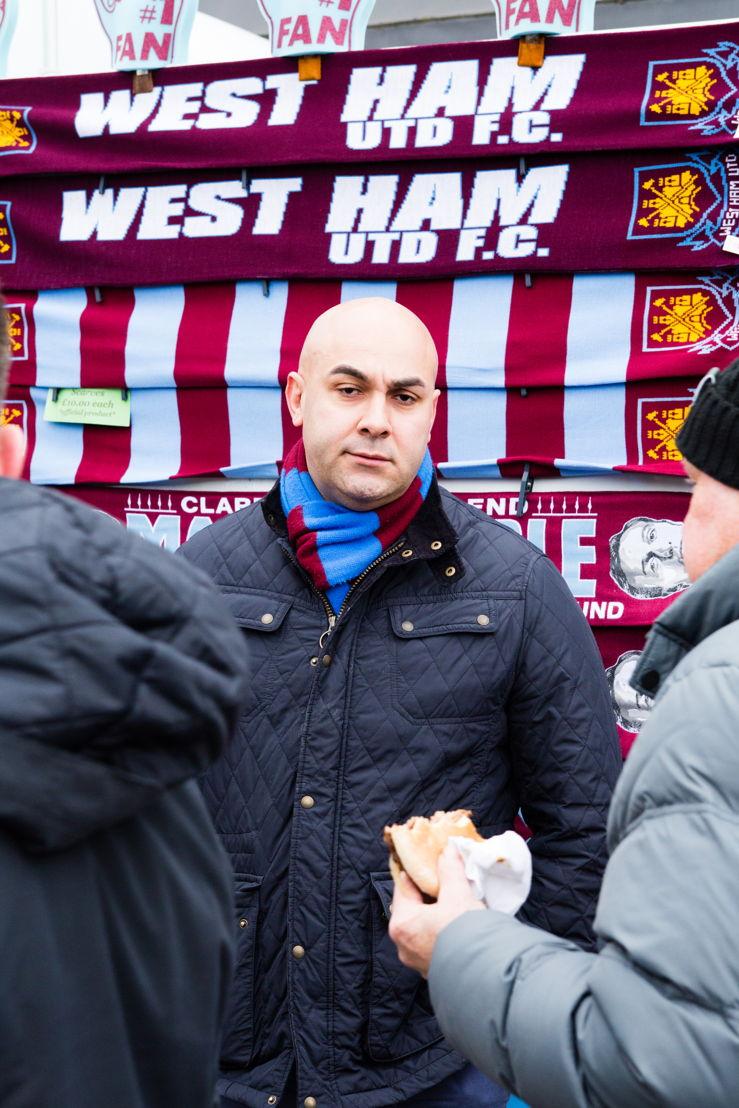 Tony, West Ham tragic