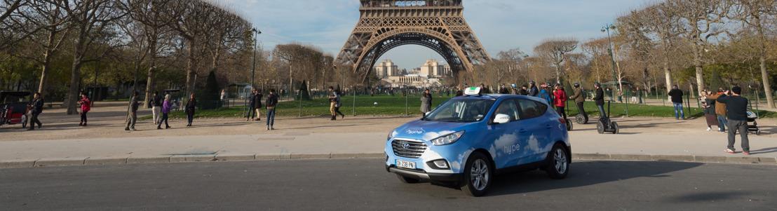 Hyundai Motor en STEP breiden vloot Parijse waterstoftaxi's verder uit