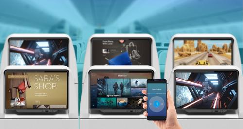 Thales booste l'expérience de vol avec son multimédia de bord AVANT Up