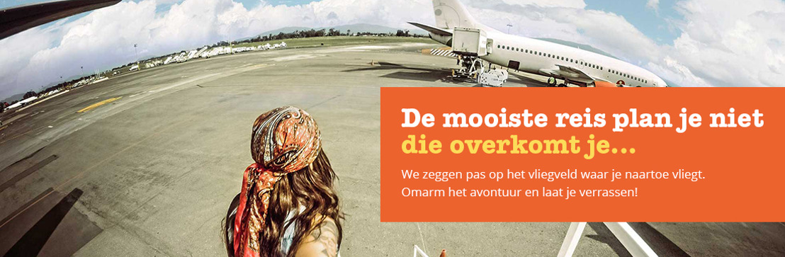 Nu ook in België: Op reis met je bestemming als verrassing!