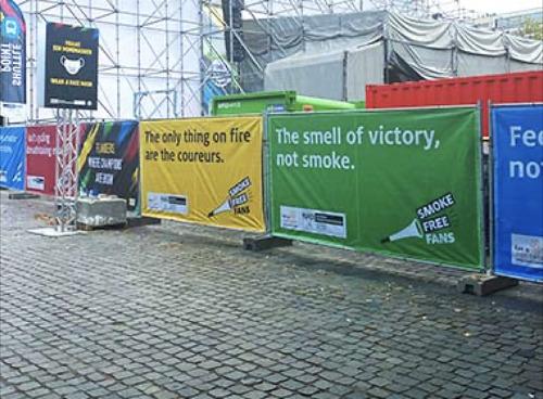 Kom op tegen Kanker en DDB geven het WK Wielrennen extra zuurstof.