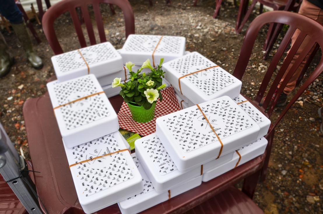 Picknick aan werfkeet kondigt start ruilverkavelingswerken Willebringen aan