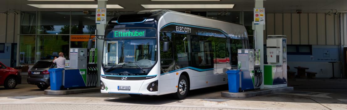 Hyundai inizia i test con l'autobus a celle a combustibile ELEC CITY a Monaco di Baviera