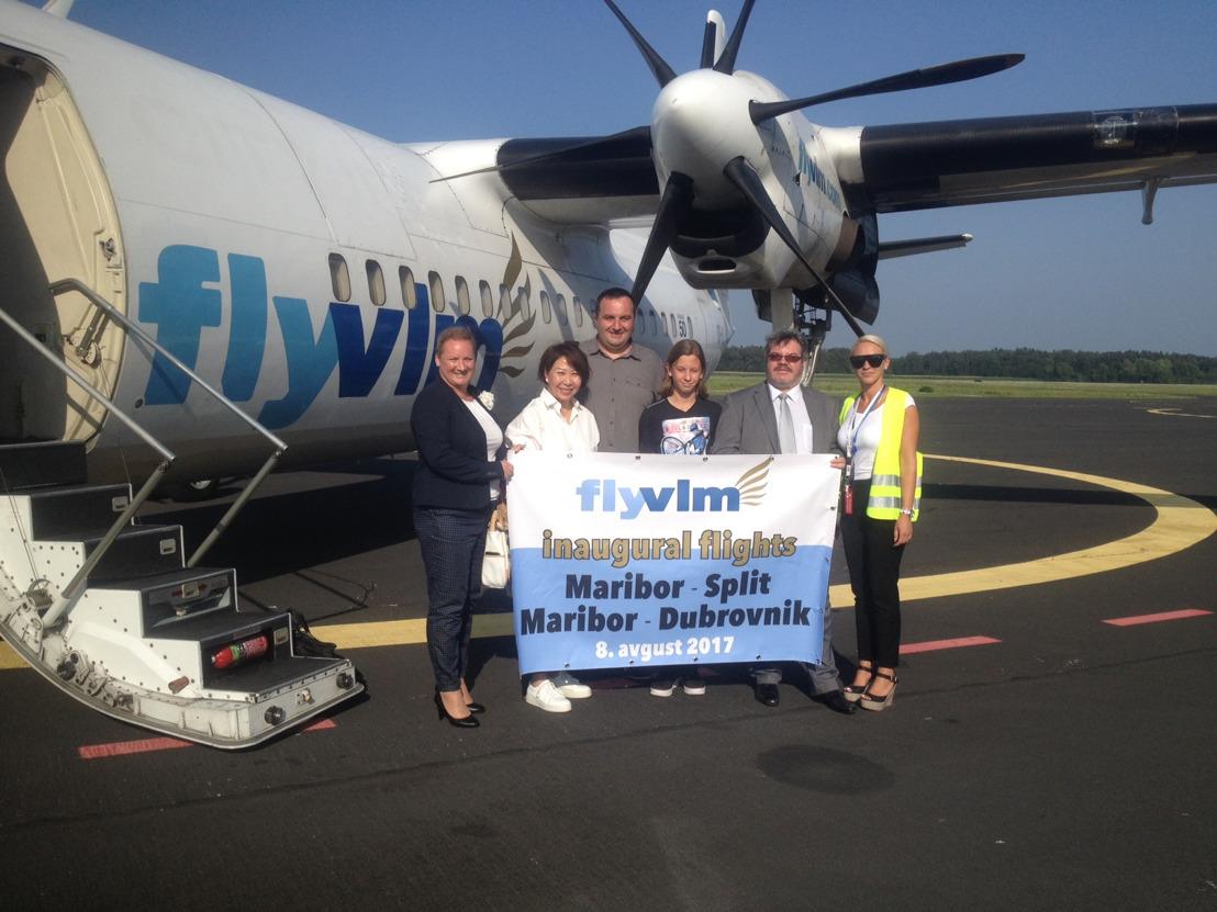VLM Airlines is van start gegaan met lijnvluchten tussen Slovenië en Kroatië