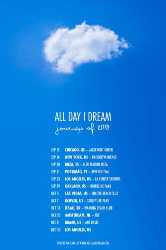 All Day I Dream Releases Details for North American Summer Season Closing and Fall Events