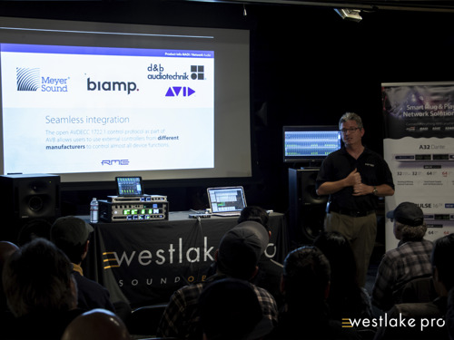 RME Holds Audio Networking Workshop at Westlake Pro in Hollywood