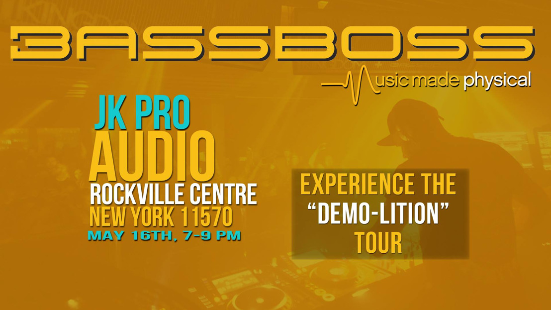 BASSBOSS Brings its 'Demo-Lition' Tour to Rockville Center on May 16