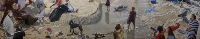 Athos Burez maakt eigentijdse interpretatie van 'De Baden van Oostende'