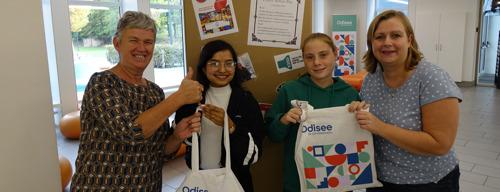 FOTO'S YOUCA-dag | Leerlingen worden milieuambassadeur op Odisee Campus Dilbeek