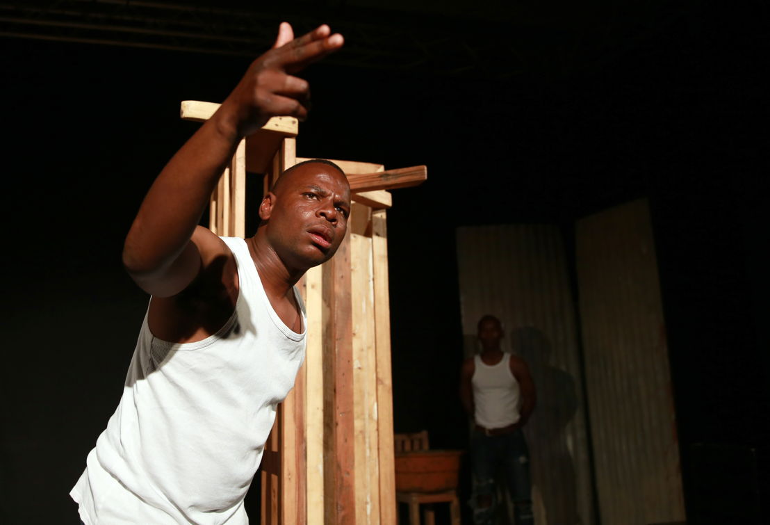 Ubuze Bam with Bongani Dyalivana - credit Nardus Engelbrecht Cape Town Fringe 2016