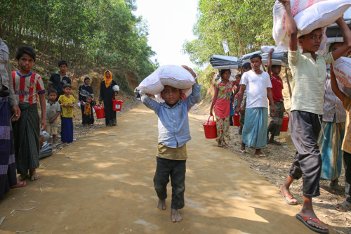 MSF SURVEY: About 6,700 Rohingya killed in one month during attacks in Myanmar