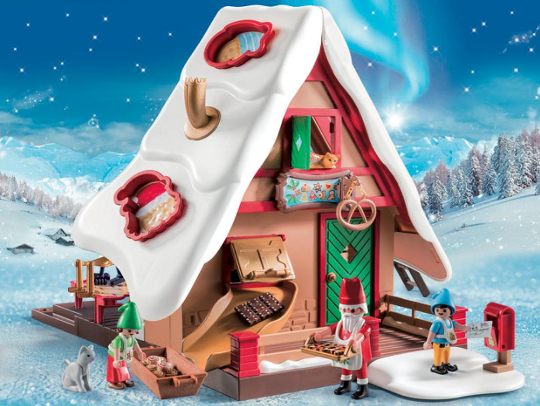 Zie ginds komt de stoomboot én... de kerstman op zijn slee!