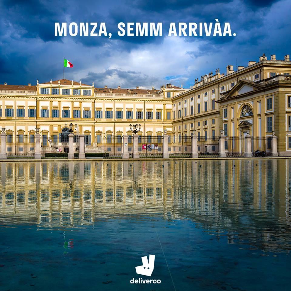 Deliveroo Monza