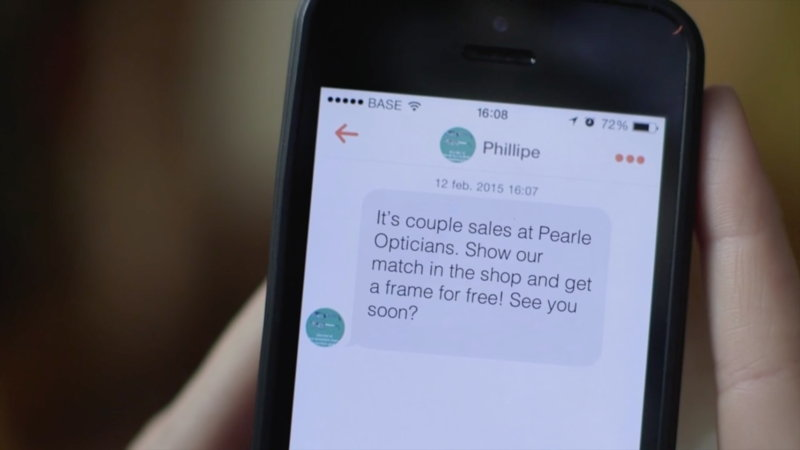 Pearle Opticiens - Tinder - 3