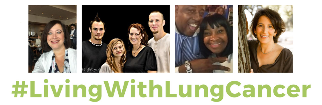 Lung cancer survivors stage a takeover of Lung Cancer Foundation of America's social media channels on World Lung Cancer Day August 1 to demonstrate what it means to be #livingwithlungcancer